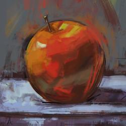 peinture pomme1b2