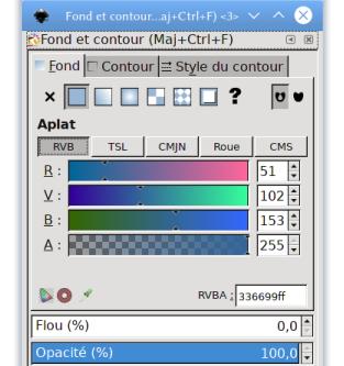 Inkscape et les palettes de couleurs