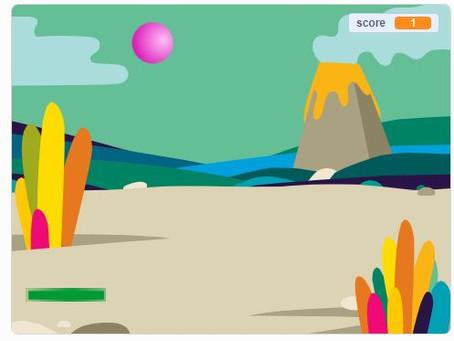 """Créer un jeu type """"pong"""" avec scratch"""
