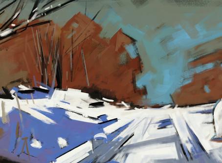 Peinture panoramique