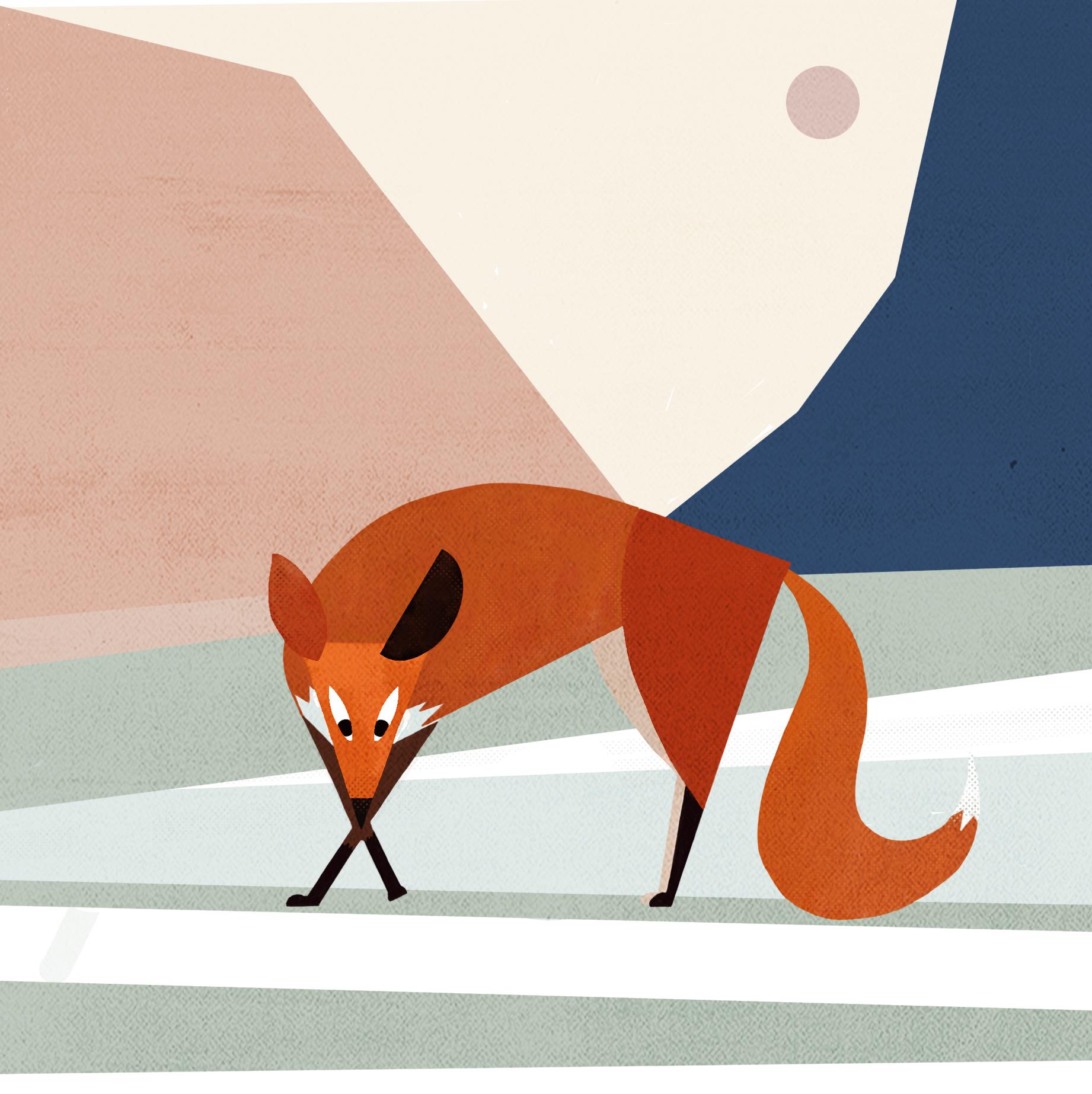 abstrait renard 2
