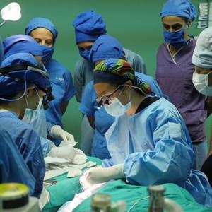 Teaching Strabismus Surgery at Tilganga Eye Hospital in Nepal