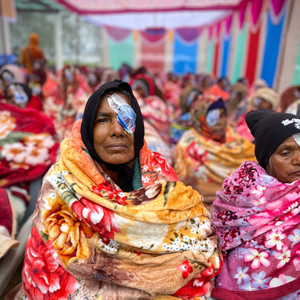 Cataract Surgery Patients at a Camp in Nepal