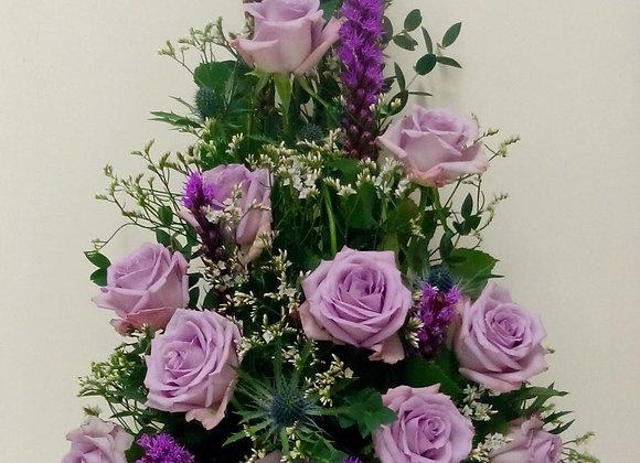 Lilac Front Facing Arrangement