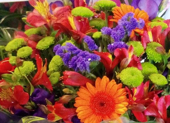 Colourful Statice Bouquet