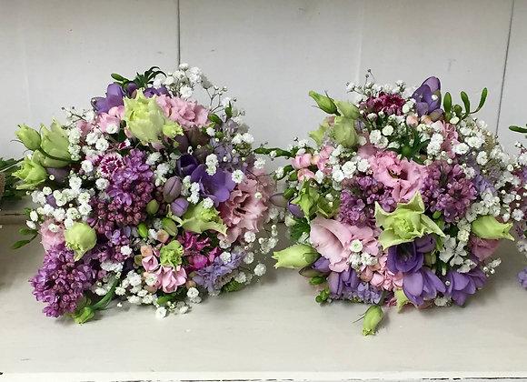 Heavenly Scent Bridesmaid Bouquets