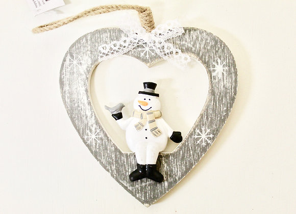 Mr Snowman Decoration