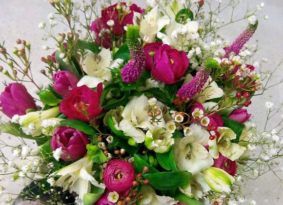 Tulip & Veronica Bouquet