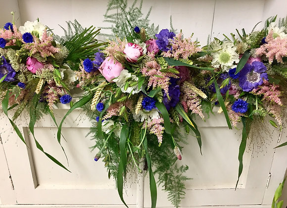 Wild Trailing Bridal Bouquet