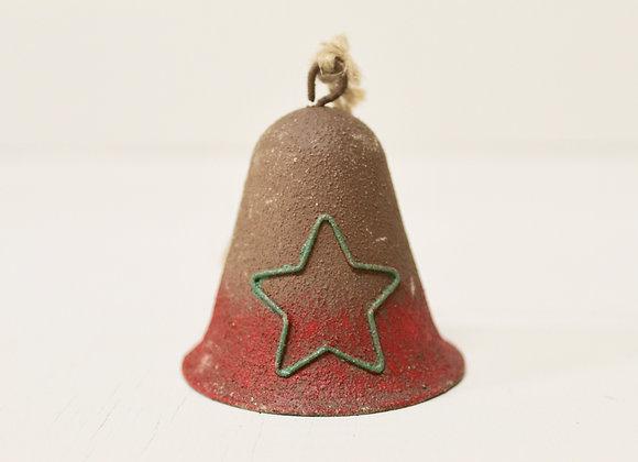 Rustic Metal Star Bell