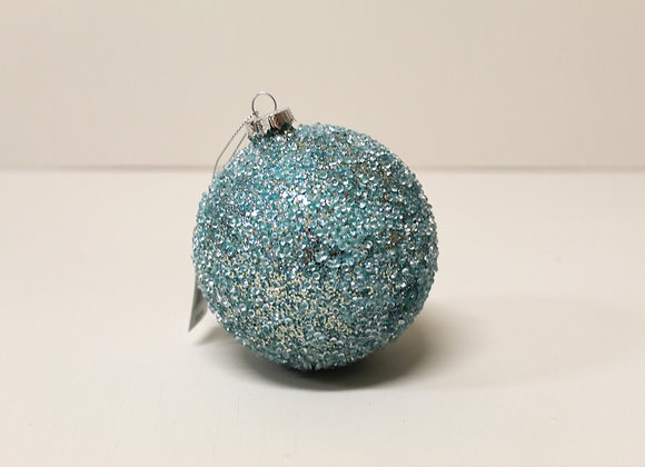 Large Turquoise Crystal Bauble