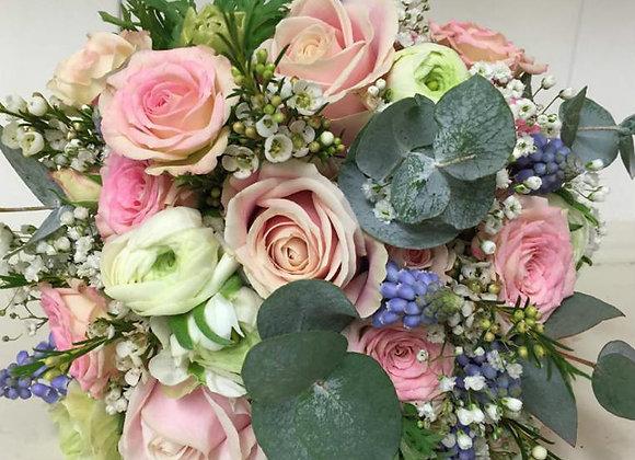 Vintage Pastel Bridal Bouquet