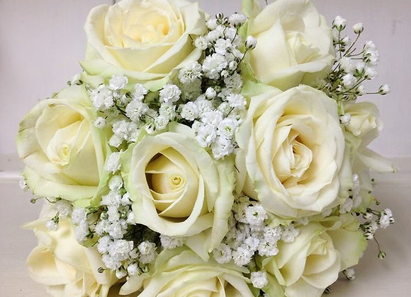 Ivory Avalanche Rose Bridal Bouquet
