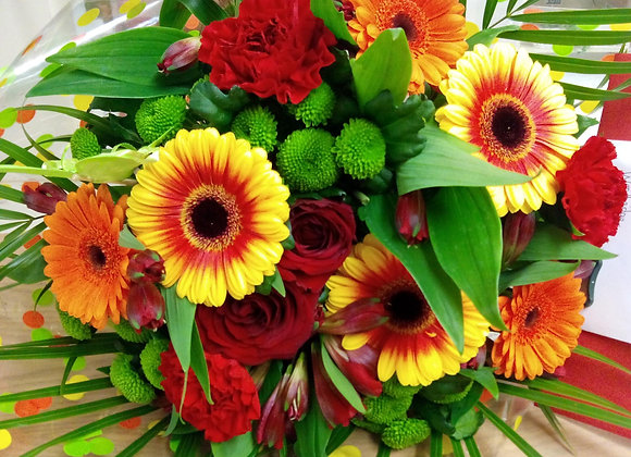 Colourful Two-Toned Gerbera Bouquet