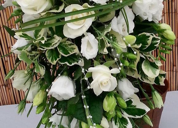 Pearl Bridal Shower Bouquet