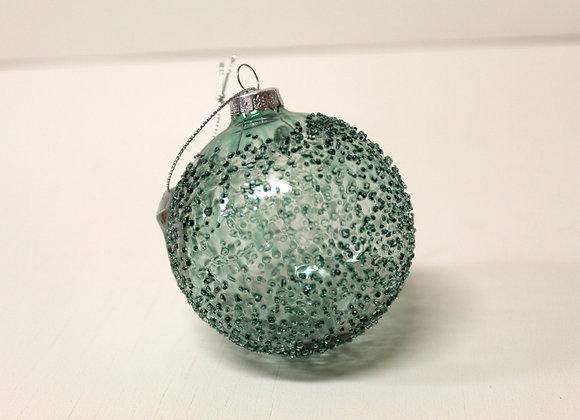 Medium Turquoise Crystal Bauble