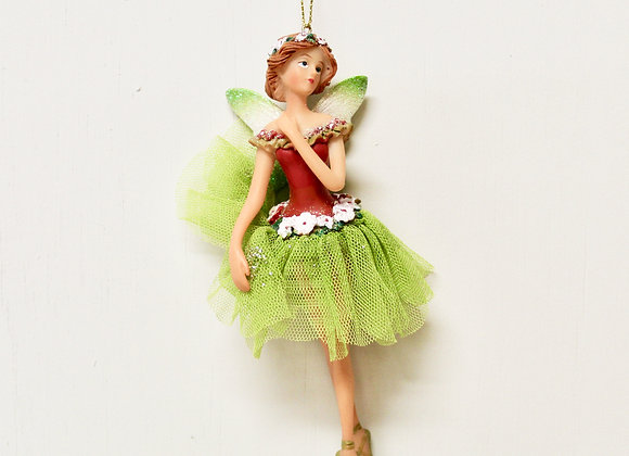 Green Christmas Fairy