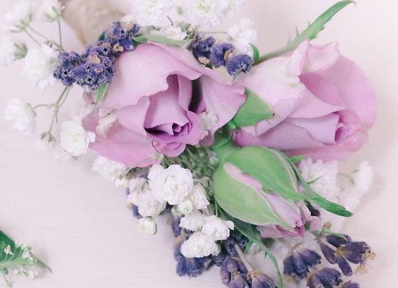 Lilac Buttonhole