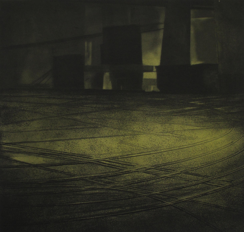 La lumière de l'ombre Gravure 39x42