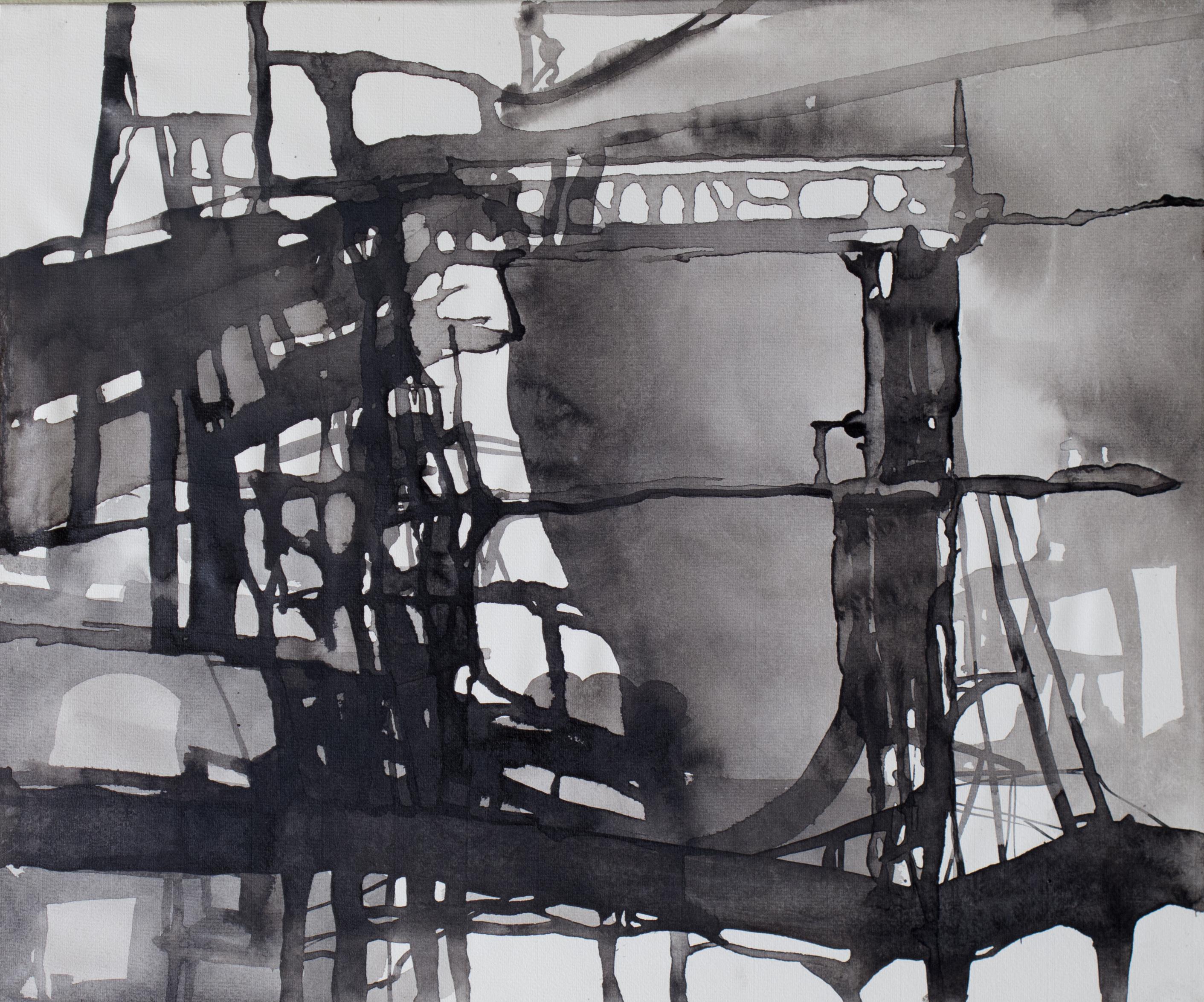 Ruhr Encre 46x38 2015