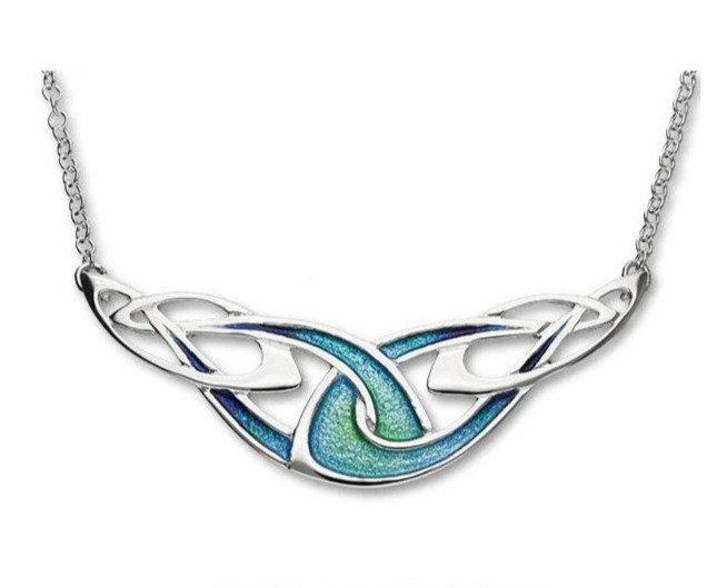 Ortak EN26 enamelled necklace