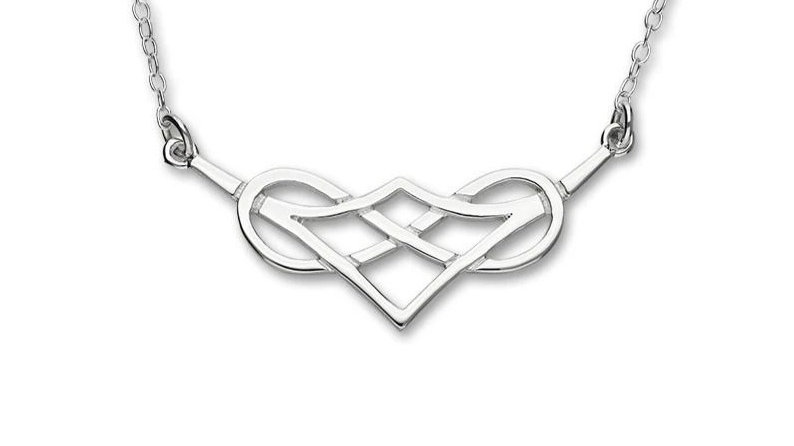 Sterling silver Celtic necklace