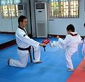 Principiantes Taekwondo lección