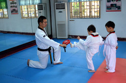 Beginners Tae Kwon Do Lesson