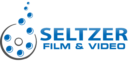 Seltzer Film and Video Blue Logo