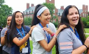 Native American college students