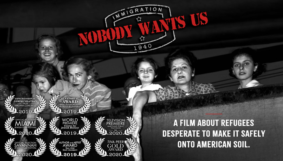 """Horizontal Poster for """"Nobody Wants Us"""""""