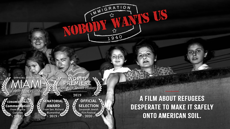 "Private Screening Party ticket for ""Nobody Wants Us"""
