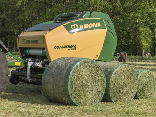 Baling Haylage