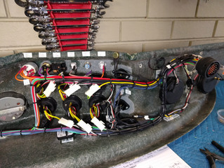 XJ13 Wiring Begins!