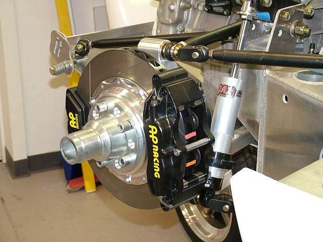 Designing, Manufacturing and Assembling a GT40 Braking System