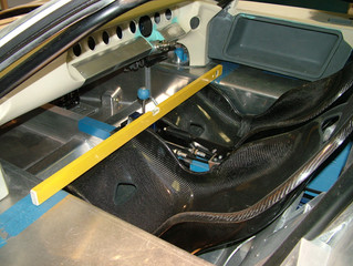 Custom Carbon Seats for the GT40