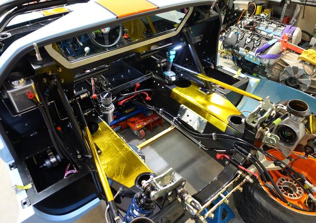 GT40 Engine Bay