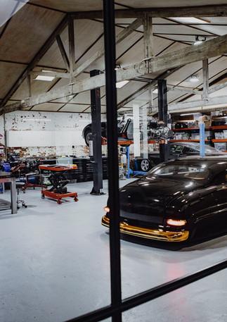 Renner Auto Workshop Area
