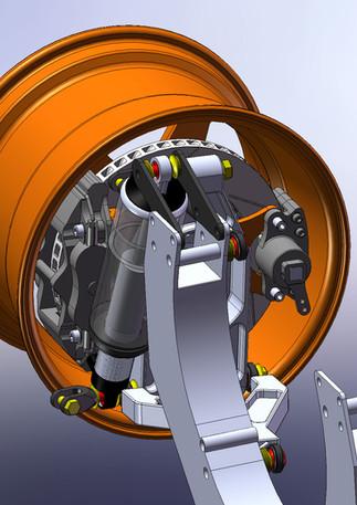 GT40 Rear Suspension