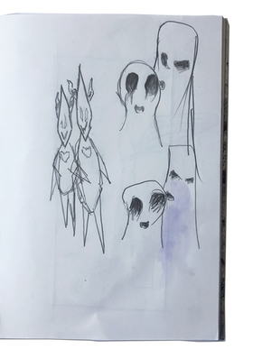 Sketchbook Page 22