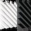 Thumbnail: Акустическая панель Acoustic Wave 50мм, 50х50 см (на фото 4 шт)