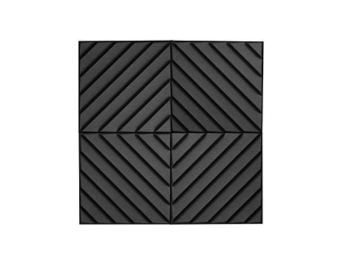 Акустическая панель Acoustic Wave 70мм, 50х50 см (на фото 4 шт)