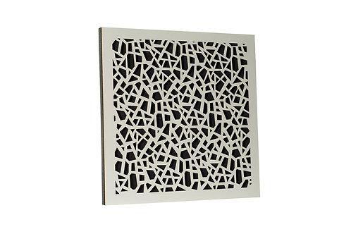Акустическая панель Ecosound EcoArt white 50х50 см 53мм цвет белый
