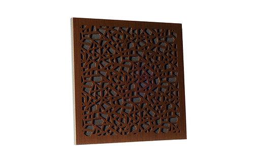 Акустическая панель Ecosound EcoArt brown 50х50 см 53 мм цвет коричневый