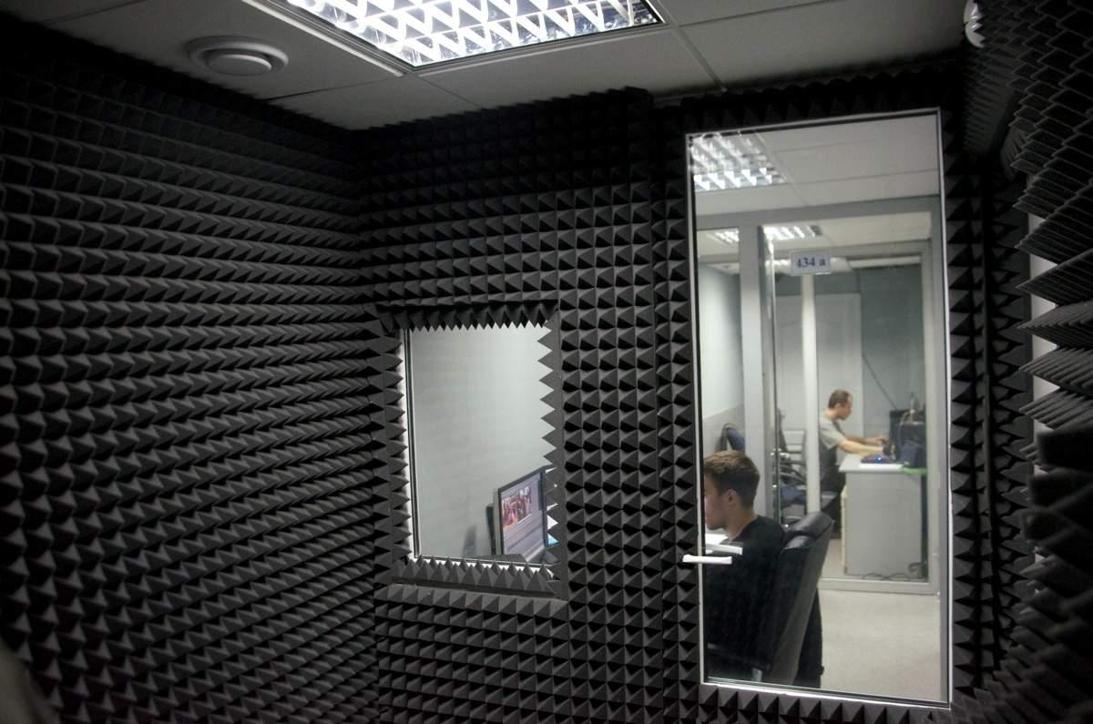 Звукоизоляция студий