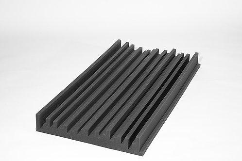 Акустическая панель Манхэттен Цвет черный 1,2х0,6м