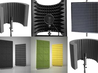 Акустический экран для микрофона-выбор и использование