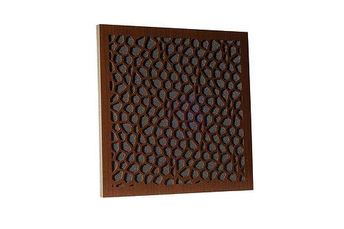 Акустическая панель Ecosound EcoNet brown 50х50 см 73мм цвет коричневый