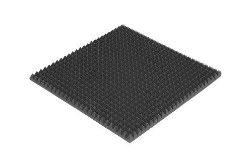 Акустическая панель PYRAMID S 30мм, 50х50см цвет черный графит