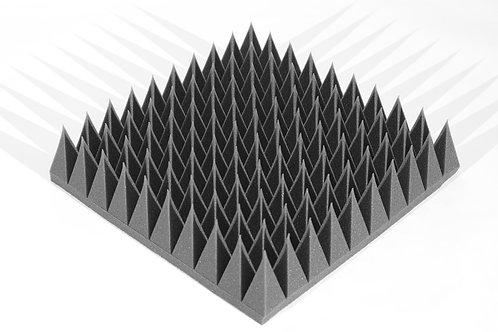 Панель Пирамида Mini 120мм черный графит 50х50см